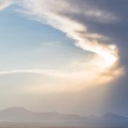 Plateau de Son Kul: l'orage approche