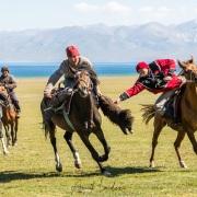 Plateau de Son Kul: jeu du bouzkachi