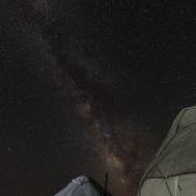 Plateau de Son Kul: voie lactée