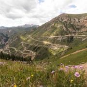 Montée au col de Moldo Alshuu, 3346m