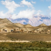 Cimetière Kirghize