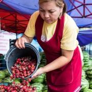 Naryn: au marché