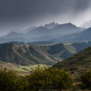 Vallée de Kok Jaiyik: L'orage arrive