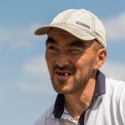 Portrait d'un berger kirghize