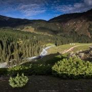 Vallée de Kok Jaiyik: paysage