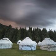 Vallée de Kok Jaiyik: camp de yourtes