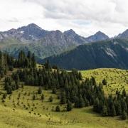 Vallée de Kok Jaiyik: Paysage de montagne