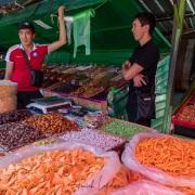 karakol: scène de vie au marché