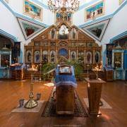Karakol: Intérieur de l'église orthodoxe