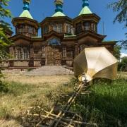Karakol: Eglise orthodoxe en bois