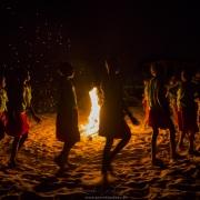 Soirée danse d'enfants malgache