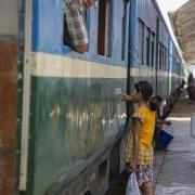 Yangon: Train circulaire