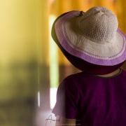 Scène de vie dans l'enceinte du palais royal: Mandalay