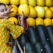 Vendeuse de pastèques