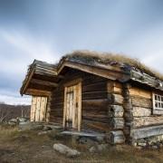 Norvège: Cabane avec toit végétalisé