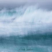 Tempête dans le fjord