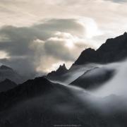 Sommets dans les nuages