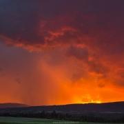Ciel d'orage sur le Jura