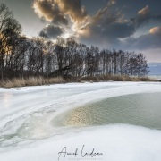 Froid polaire et bise  sur le lac de Neuchâtel