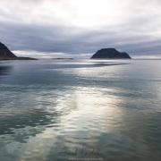 Fin de journée en mer