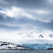Jeux de lumière sur le glacier