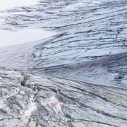 Détail de glacier