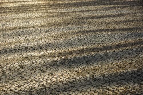 Glace en crèpe au soleil levant