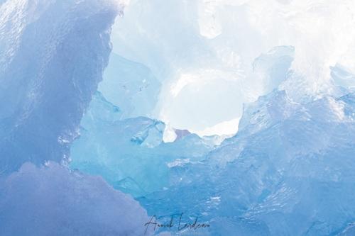 Iceberg: déclinaison de bleu