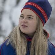Portrait de jeune fille Sami