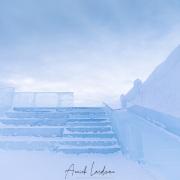 Hôtel de glace: accès à une terrasse