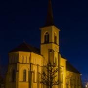 Eglise d'un village fribourgeois