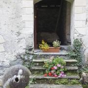 Dans l'enceinte du Musée du Val Maggia, Tessin