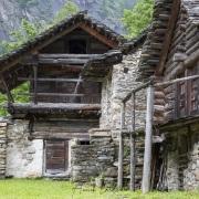 Village  de Prato-Sornico, Tessin