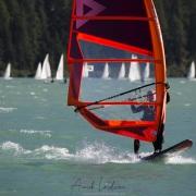 Grisons:  lac de Sivaplana, un lieu très prisé les jours de beau temps
