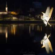 Paysage nocturne, Le Pont
