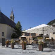 Grisons: Place du village, Silvaplana