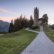 Grisons: Une des églises de Celerina