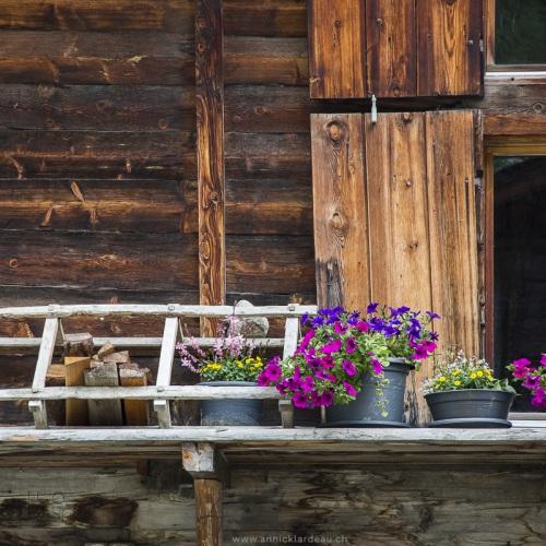 Village de Geschinen, Haut-Valais